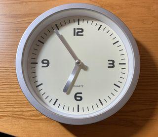 Reloj de pared (Especial para cuarto de baño)