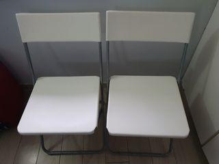 2 sillas