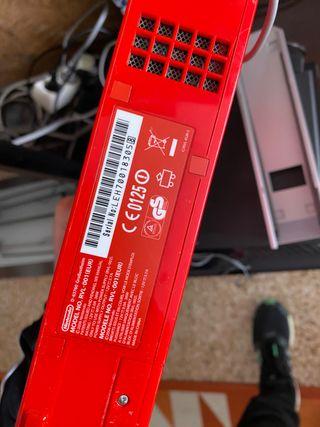 Vendo Wii roja de Nintendo en perfecto estado