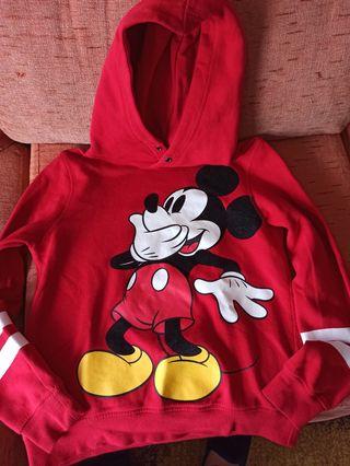 Sudadera niña Mickey Mouse Talla 10-12