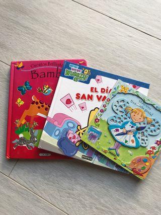 Lote tres cuentos para niños