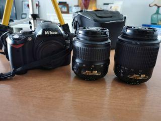 Vendo camara reflex nikon DS60