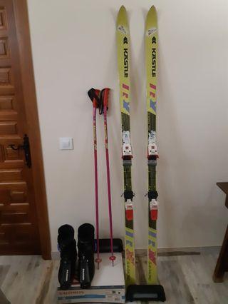 Conjunto de esquís