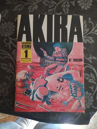 Comic Akira Tomo 1 blanco y negro b/n Manga