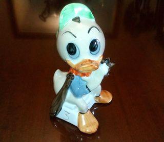 Figura porcelana Walt Disney sobrino Pato Donald