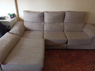 Sofa 3 plazas con chaise longe