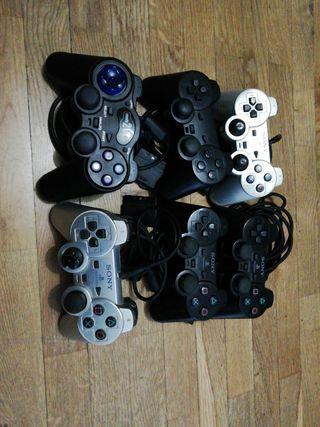 lote mandos ps2 playstation