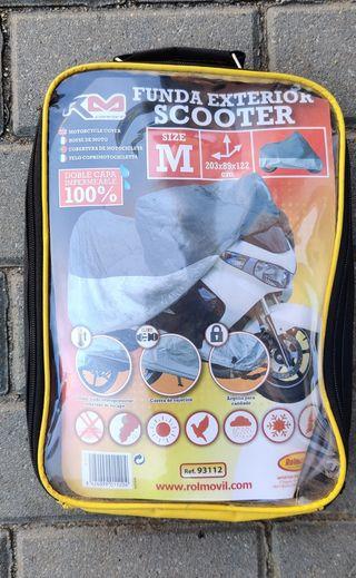 Funda protectora exterior scooter