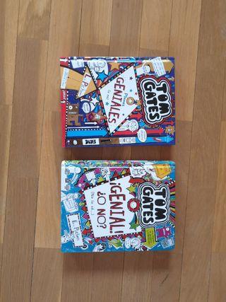 Lote Tom Gates libros 8 y 9