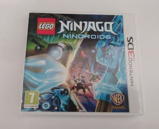Lego Ninjago Nindroids 3ds y 2ds