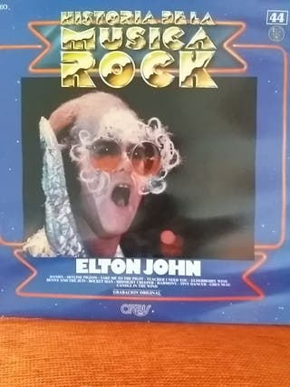 Elton John Historia de la música rock vol 44