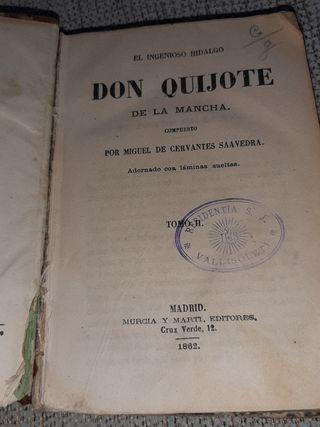 Don Quijote de la Mancha. 1862. Tomo II