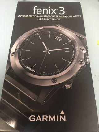 Reloj garmin fénix 3 edición zafiro