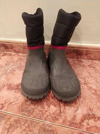 Botas de descanso nieve talla 44/45