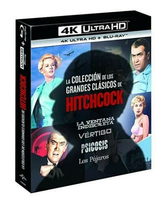 Hitchcock 4k uhd bluray coleccion pack