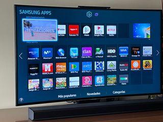 Tv smart tv led 48 pulgadas curva