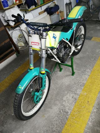 Moto Montesa cota 310