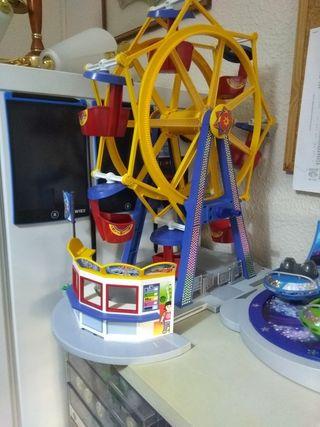 parque atracciones de Playmobil