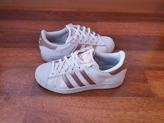 Zapatillas blancas Adidas Superstar