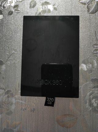 disco duro Xbox 360 de 320gb