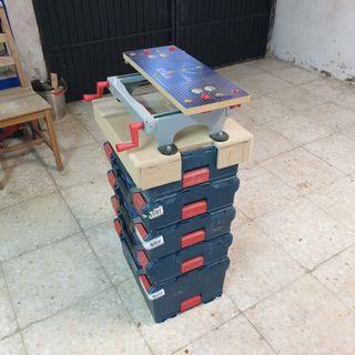 banco de trabajo adaptado a maletines lbox bosch
