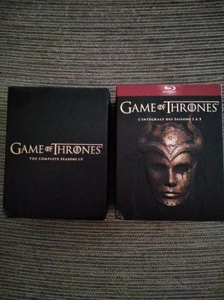 Game of thrones 1-5 Blu-ray