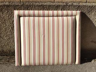 Cabecero tapizado cama 90cm.