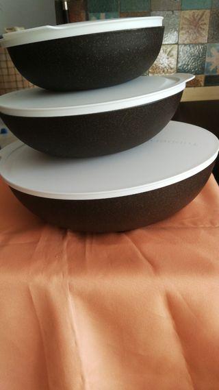 ensaladeras Tupperware