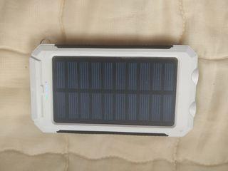 Power bank Batería externa solar 10000mah