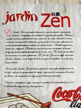 Jardín Zen Cocacola