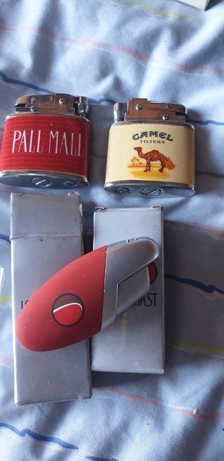 Mecheros marca tabaco