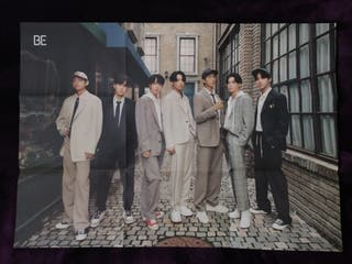BTS poster BE deluxe edition folded