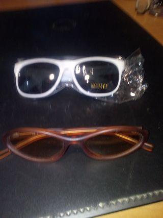 gafas de sol y cristal ahumado
