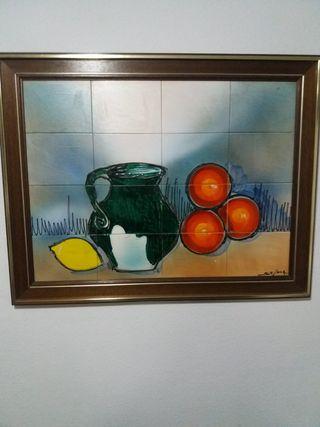 Cuadro cerámica