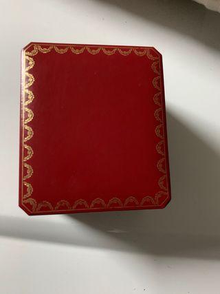 Caja Joyero Reloj Cartier