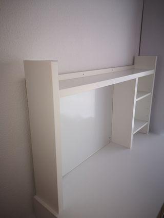 Estanteria para escritorio color blanco