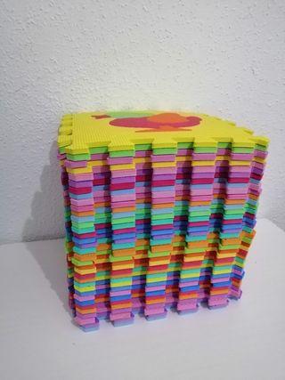 Alfombra puzzle foam/goma eva