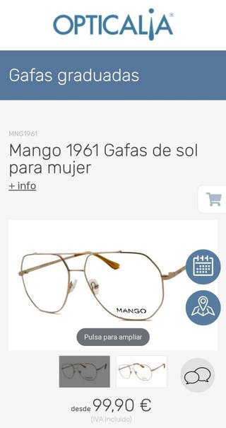 Gafas Vista nuevas