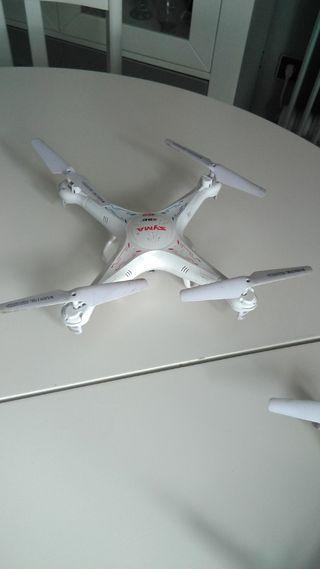 2 drones syma x5c