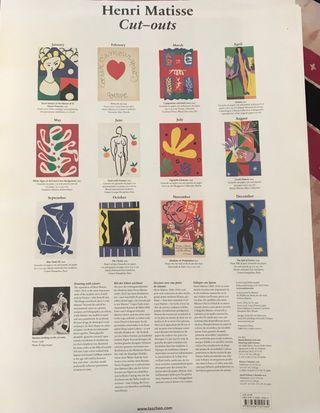 "Láminas ""Enric Matisse"""