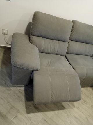 sofá chaislonge electrico