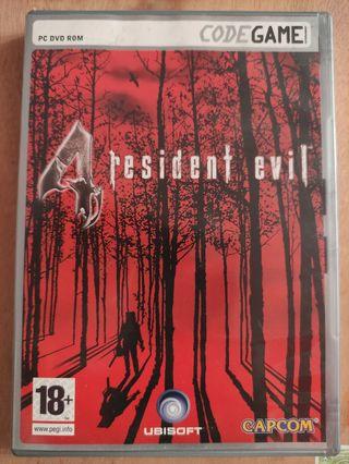 Juego Resident Evil 4 . Edición PC.