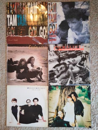 lote vinilos Pop-rock nacional