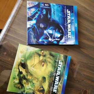 Saga star wars bluray.