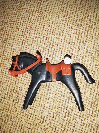 caballo playmobil con manta