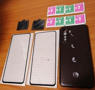 funda + cristal templado Huawei p40 lite 5g