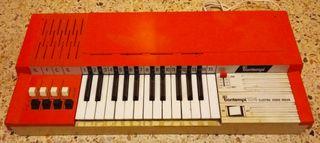 Órgano electrónico vintage Bontempi 104