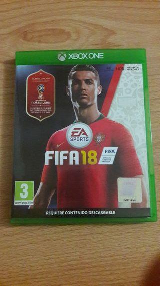 Fifa 18 Xbox One juego