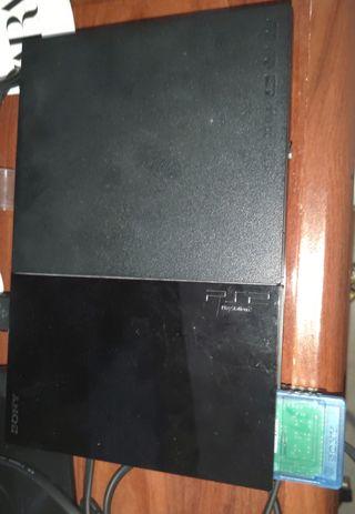 PS2 en muy buen estado+2 mandos