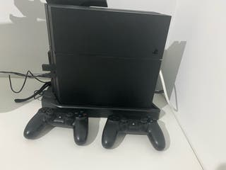 Ps4 1TB + soporte cargador de mandos + 2 mandos